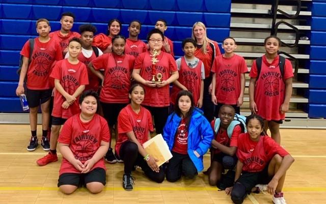 Fairview Elementary Basketball Team